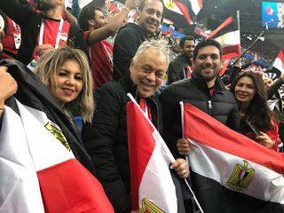 صورة بوسي شلبي ترد علي اتهام الجماهير للفنانين بالتسبب في خسارة المنتخب المصري
