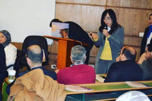"Photo of ورشة عمل بعنوان ""ترشيد استخدام المضادات الحيوية"" بجامعة القاهرة"