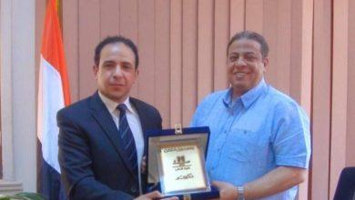 Photo of بدر عياد عضوا عاملا في مجلس جامعة آداب عين شمس