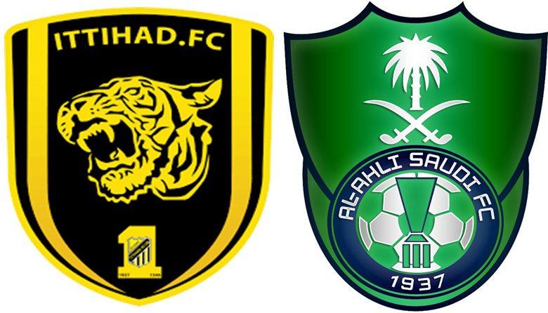 صورة بث مباشر لمباراة الاتحاد والأهلي السعودي في الدوري