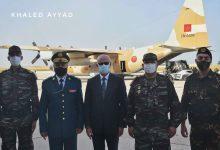 صورة مساعدات غذائية من المملكة المغربية للجيش والشعب اللبناني